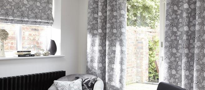 Curtains, Long Melford, Sudbury, Suffolk