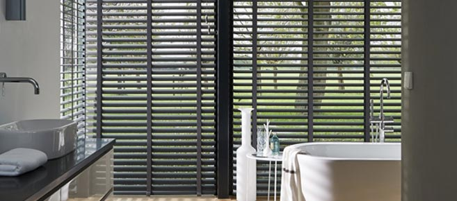 Venetian Blinds, Long Melford, Sudbury, Suffolk