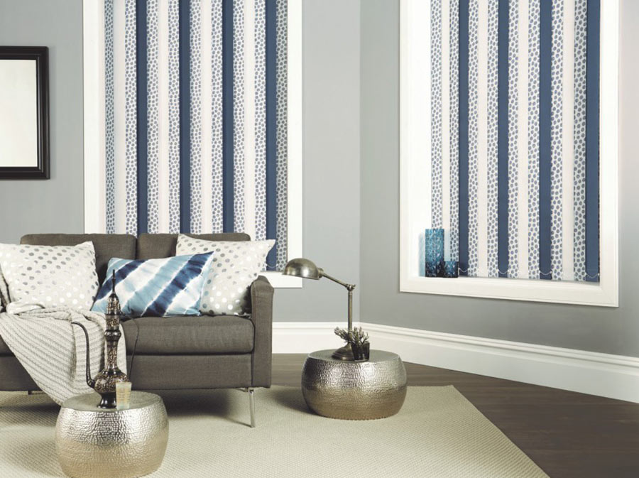 Vertical Blinds, Bespoke Blinds, Long Melford, Sudbury, Suffolk